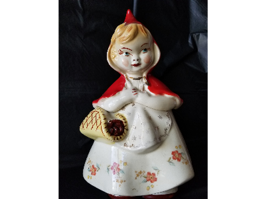 1940's Hull Little Red Riding Hood Coolie Jar