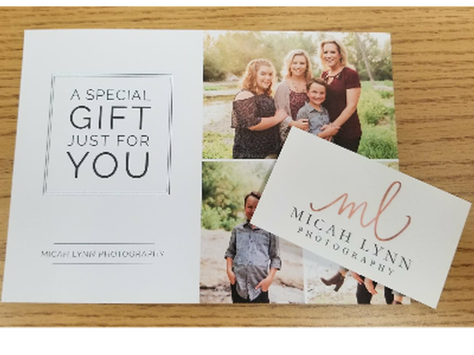 Full Service Family Photo Package