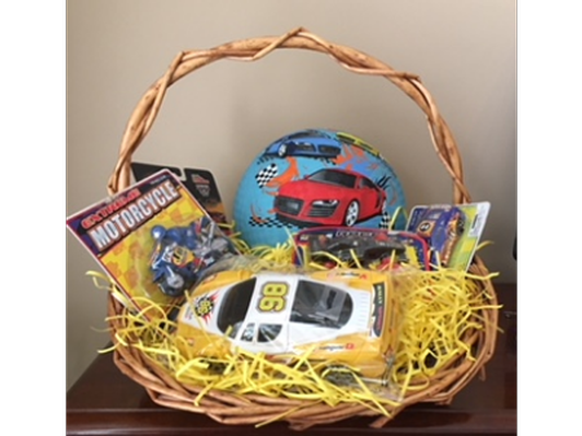 Race Car Basket