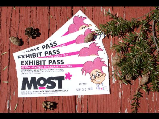 Exhibit passes to MOST