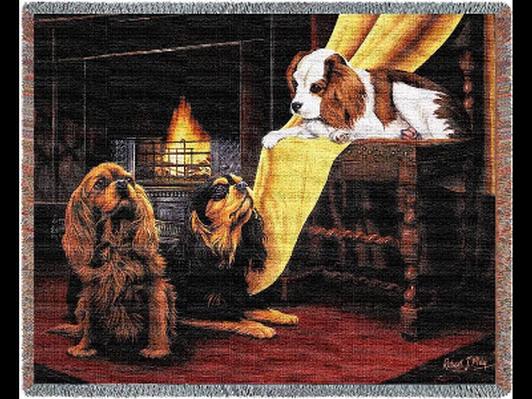 Cavalier Woven Throw Blanket #1148-T
