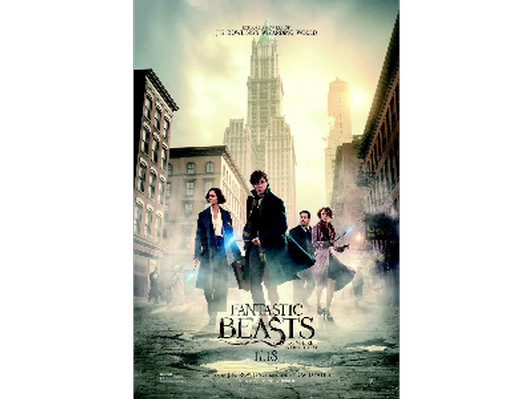 Fantastic Beasts and Where to Find Them Movie Poster