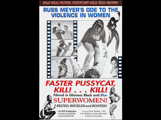 Faster, Pussycat! Kill! Kill! Movie Poster
