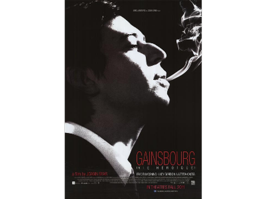 Gainsbourg: A Heroic Life Movie Poster