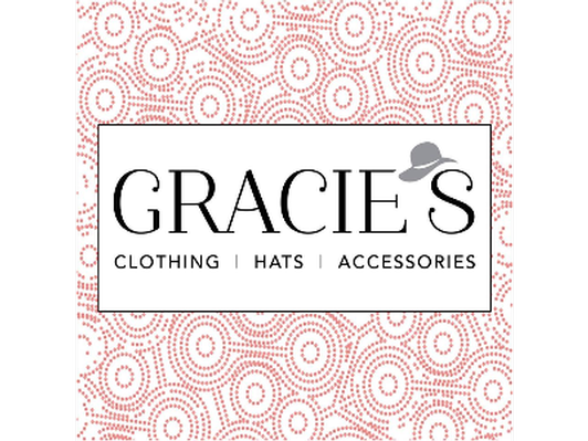$50 Gift certificate donated by Gracie's Clothing Hats and Accessories