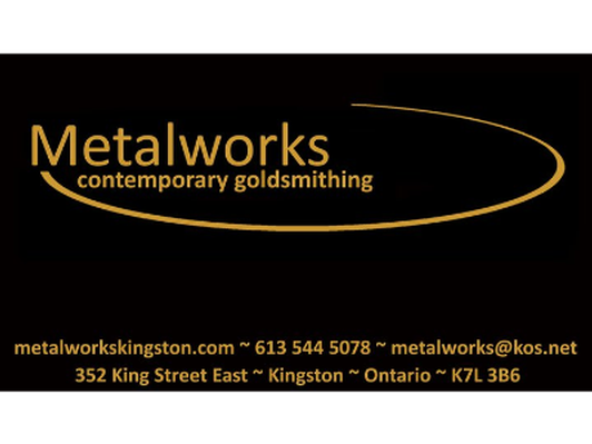 $250 gift certificate donated by Metalworks Contemporary Goldsmithing *PREMIUM ITEM*