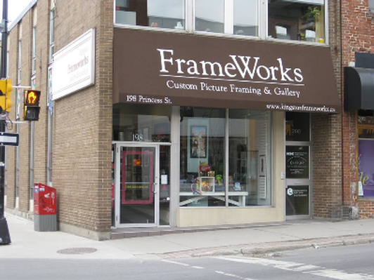 $30 gift certificate donated by Kingston FrameWorks