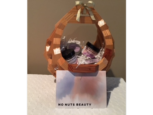 No Nuts Beauty Travel Combo Basket - scented
