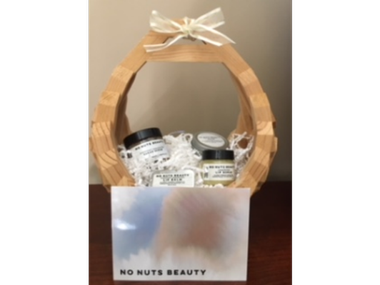 No Nuts Beauty Travel Combo Basket - unscented