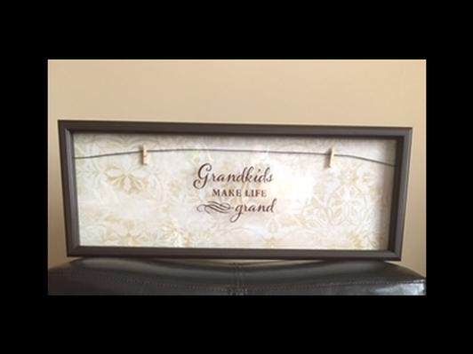 Grandkids Make Life Grand Picture Frame