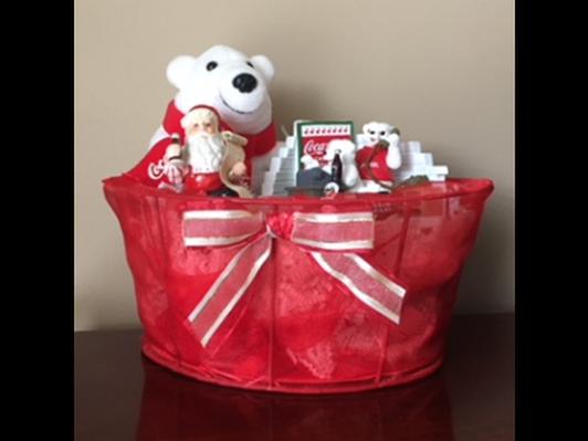 Coca-Cola Bear Basket
