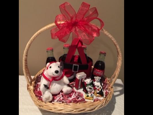Coke Bear Basket