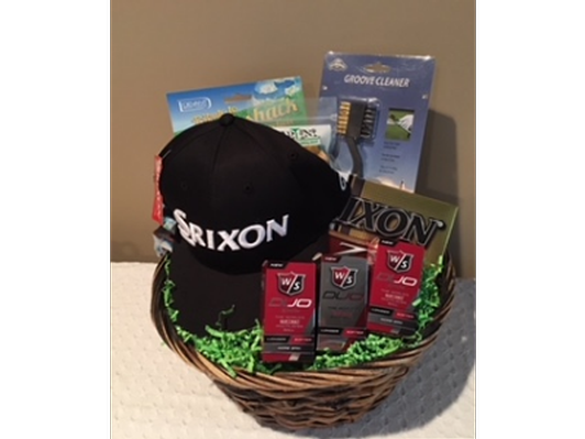 Golf Basket with Hat