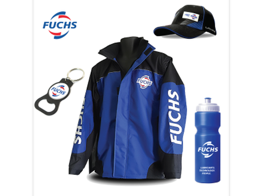 FUCHS Race Jacket | Cap | Drink Bottle | Keyring
