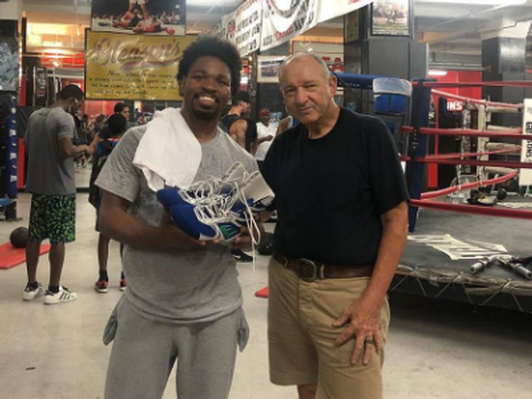 Shawn Porter Signed Memorabilia, Tickets to Welterweight Title Fight Against Danny Garcia and Weigh-In Meet & Greet