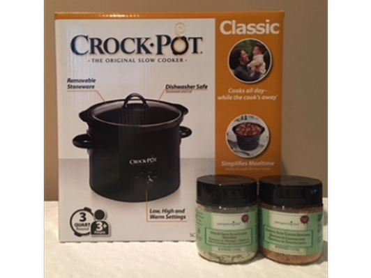 Crock Pot and Pampered Chef Spices