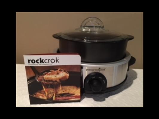 Pampered Chef Rockcrok Slow Cooker Set