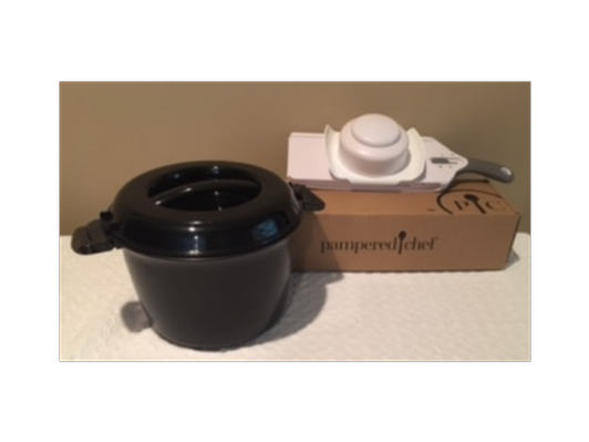 Pampered Chef Simple Slicer and Rice Cooker