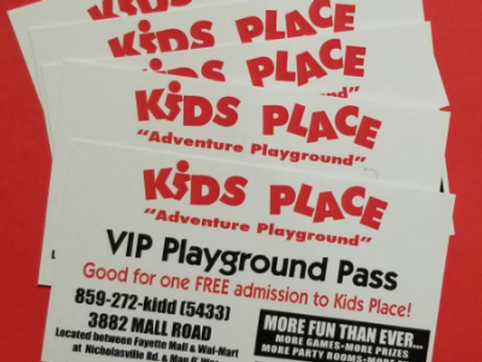 Kids Place - 5 Passes