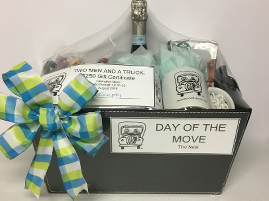 """Two Men and a Truck """"Day of the Move"""" Gift Basket"""
