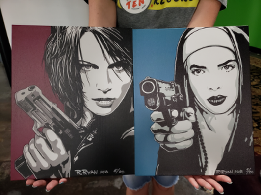 Ferocious Femmes - Original Canvas Prints