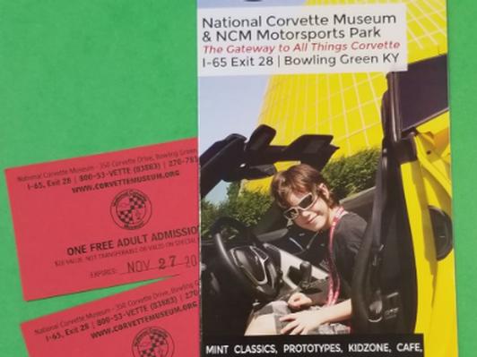 Corvette Museum - 4 Tix
