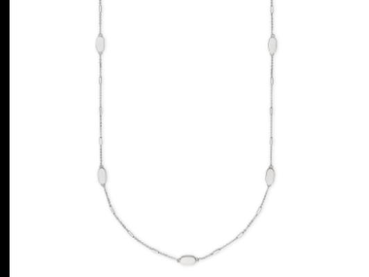 Franklin Necklace Bright Silver