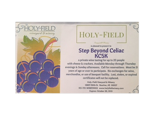 Holy-Field private wine tasting for 20 people