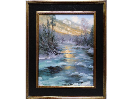 Winter On East Fork Creek