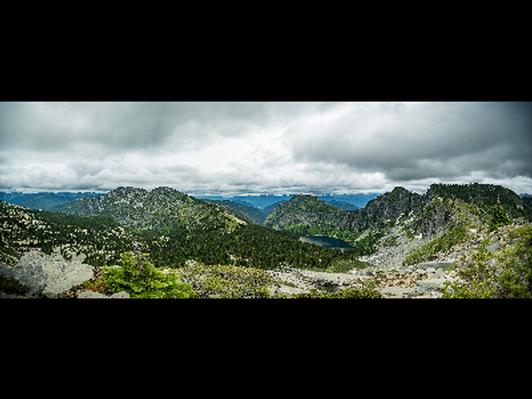 Vertigo Ridge Panorama