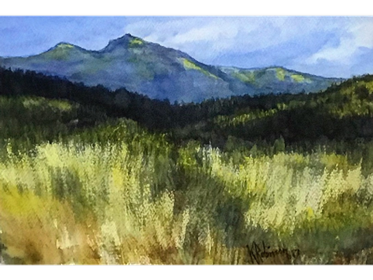 Scotchman Peak From the Delta