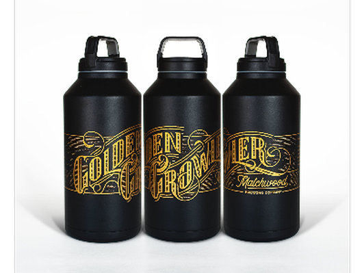 One-year use of a Matchwood Brewing Golden Growler