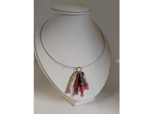 Scroll Bead Necklace