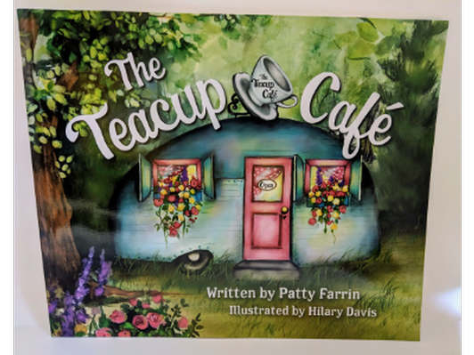 """Children's book titled """"The Teacup Cafe"""""""