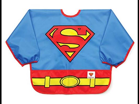 Superman Toddler Bib