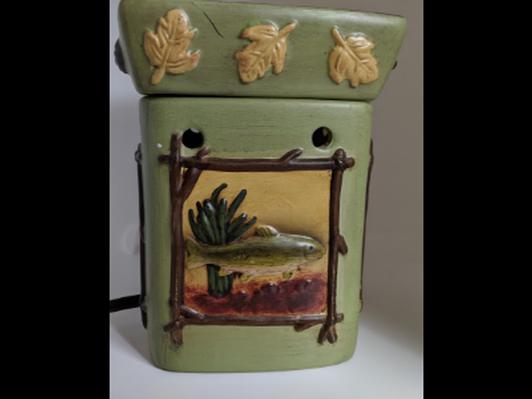 River birch themed Scentsy burner