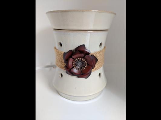 Flower Scentsy burner