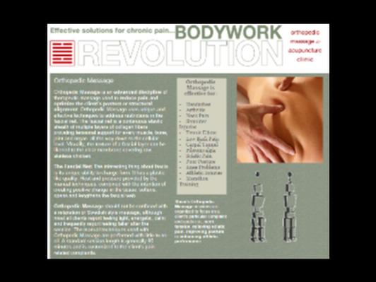 Massage at Bodywork Revolution