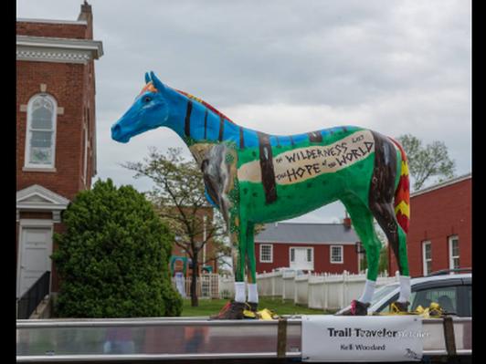 Trail Traveler by Artist Kelli Woodard