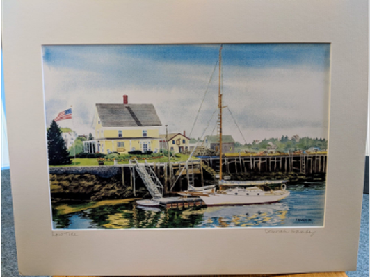 High quality Watercolor Print