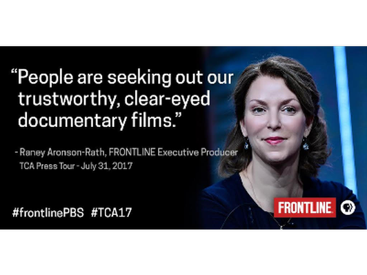 Behind the Scenes at Frontline with Executive Producer Raney Aronson PBS