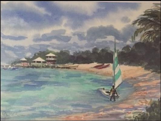 Sunfish, Staniel Cay, Exumas, Bahamas