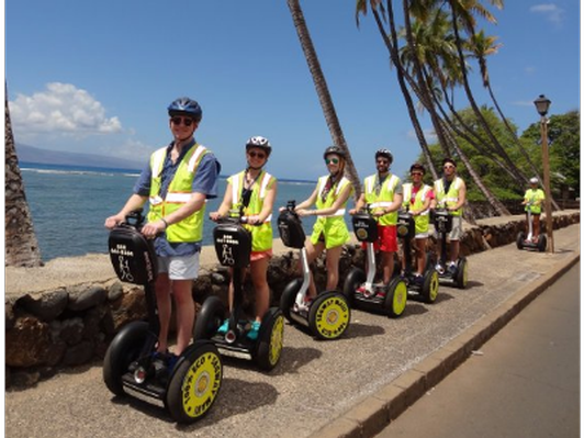 Segway Guided Tour in Lahaina for Two
