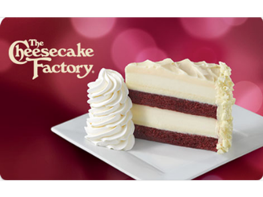 Cheesecake Factory Gift Card - $50