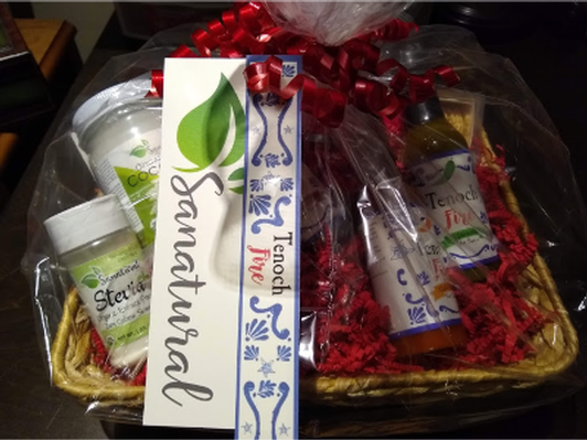 Tenoch Fire/Sanatural Gift basket