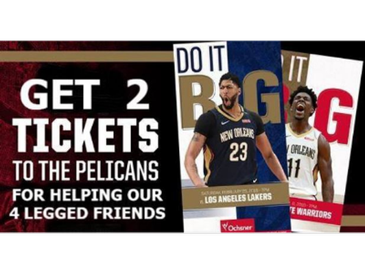 S.T.A.R.T. New Orleans Pelicans Tickets Auction