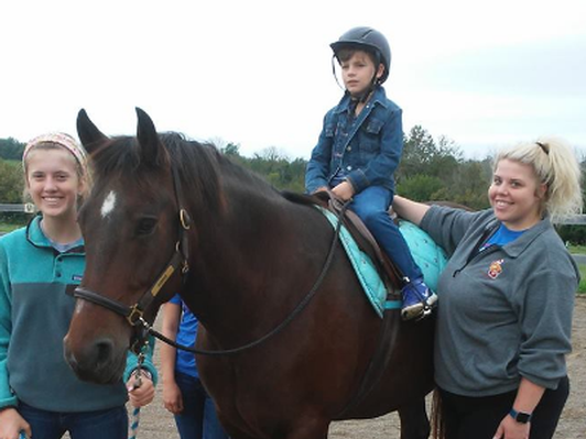 Steps and Strides Riding Lessons for Kids with Disabilities