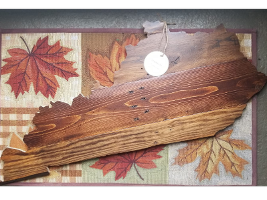 Kentucky Wooden Decor