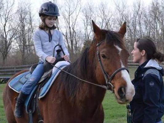 Double S Horsemanship Riding Lesson