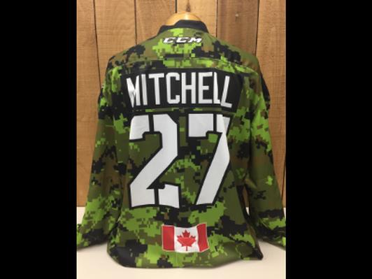 Marcus Mitchell #27 Game Worn Jersey